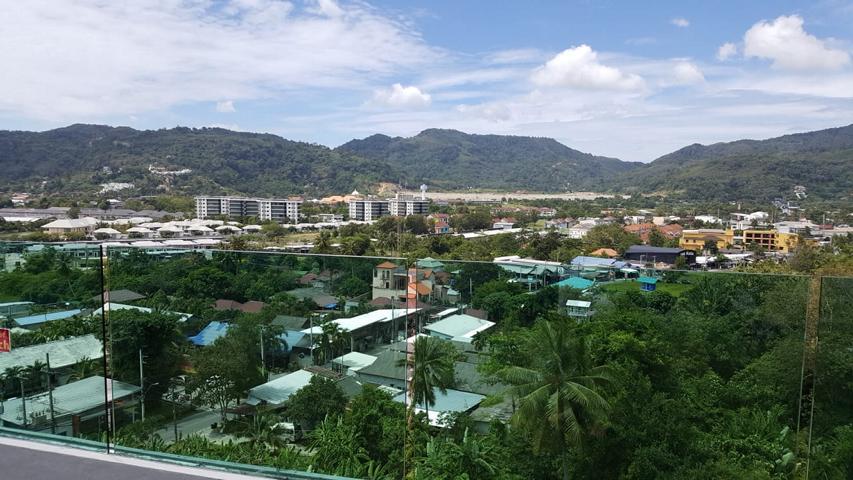 Ausblick aus dem Hotelzimmer in Phuket