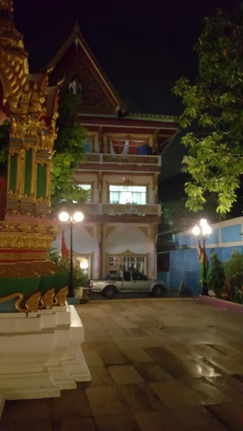 Phuket old Town Tempel bei Nacht