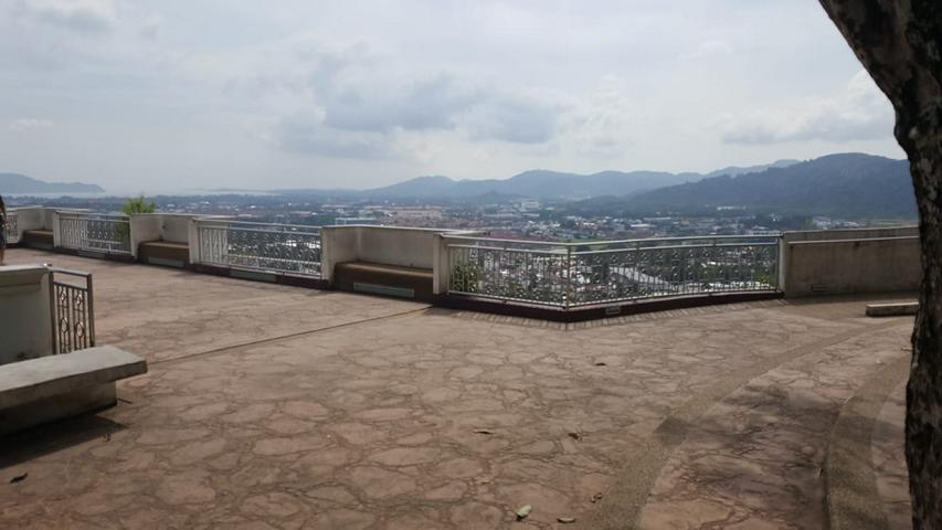 Rang Hill Viewpoint mit Aussicht auf Phuket Town
