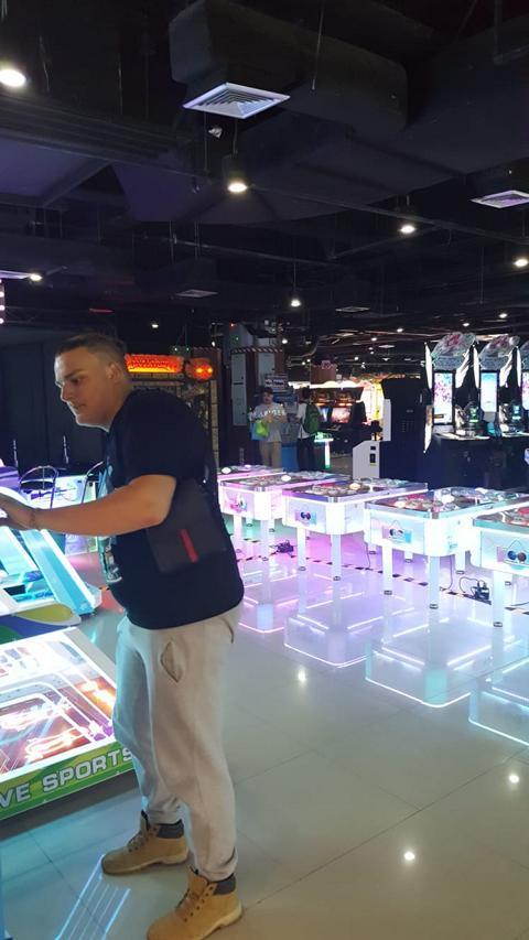 Bangkok MBK Center Arcarde Center