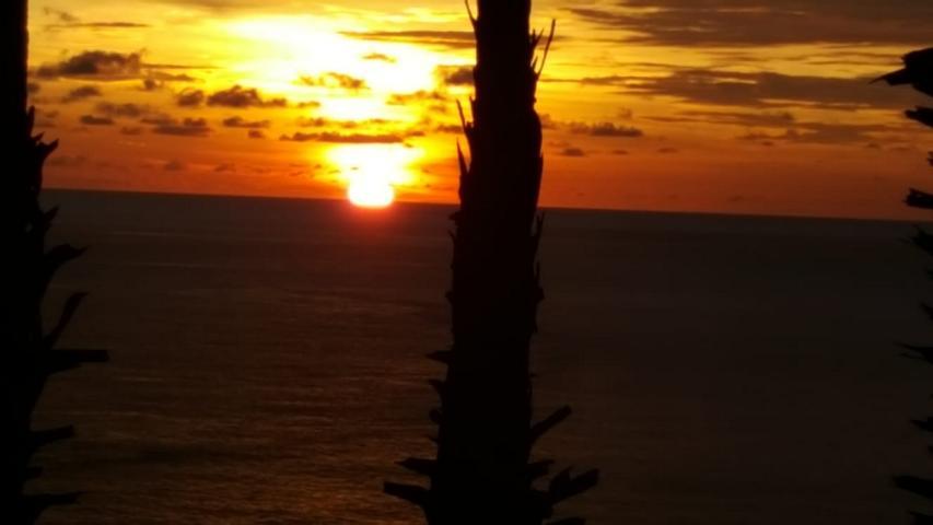 Promthep Cape Viewpoint bei Sonnenuntergang in Phuket Thailand