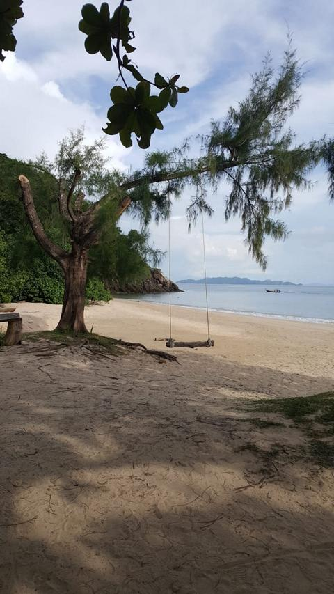 Mu Koh Lanta Nationalpark beach