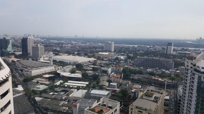Bangkok Aussicht aus unserem Zimmer